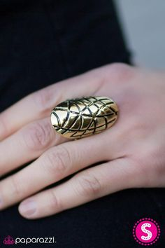 The Tortoise and the Hare - Brass Paparazzi Accessories, Paparazzi Jewelry, Brass Jewelry, Tortoise Shell, Hare, Class Ring, Diva, Deserts, Boutique