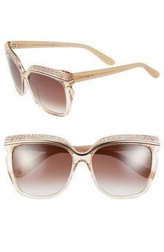3ab0ed3d243 Jimmy Choo Jimmy Choo 58mm Retro Sunglasses available at  Nordstrom  JimmyChoo  Jimmy Choo Glasses