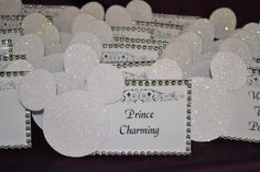 mickey mouse weddings | Mickey Mouse Table Name Display | Fairy Tale Wedding & More, LLC.