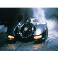 Batman 1989 Movie Batmobile Gallery Print