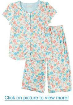 Karen Neuburger Womens Kiss Me Capri Pajama Set Cute Pjs, Pajamas Women, Kiss Me, Pajama Set, Best Sellers, Capri, Rompers, How To Wear, Tops