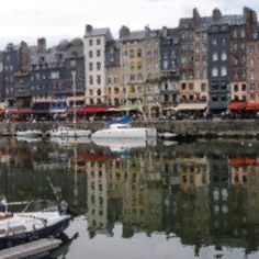 'Chasing Monet' in #Honfleur #Normandy #France #portdehonfleur || Edited this photo to get that #impressionism  effect  Another #Monet #impresionistpaintings inspired #travel  #wanderlust #port #seaportvillage #travelphotography #artandnature by greencaviar
