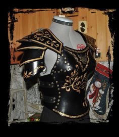 female leather armor x-small by ~Lagueuse on deviantART