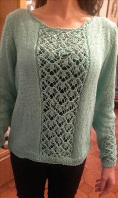 maglione in cotone d'effetto!
