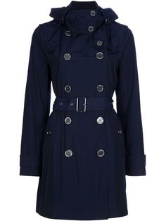 @Farfetch #burberry navy blue trench coat.