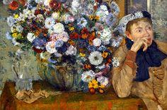 Edouard Manet painting at the New York Metropolitan Art Museum | por mbell1975