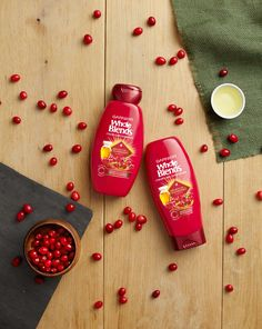 Caring for color-treated hair can be tricky.  Simplify your routine with new Garnier Whole Blends Color Care shampoo, conditioner, and hair mask treatment.  Get lost in the amazing scents of argan oil and cranberry extracts.  This paraben-free formula reveals radiant color for naturally beautiful hair.  Find which blend works for you!