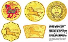 Coins of the horse - PhotoNews - Globaltimes.cn