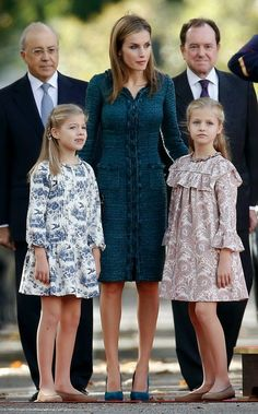 OooMyRoyals: Spanish Royal Family attends National Day, Madrid, Spain, October…