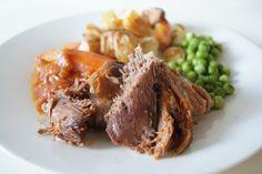 Slow Cooker Roast Lamb - super easy, super delish!