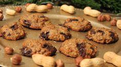Rezept LowCarb Erdnussbutter Schoko Cookies von Foodbloggerin Nadin Schatter - Fitnessfood4you - Cookies mit Erdnussbutter und dunkler Schokolade