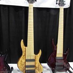 @bassmusicianmag @miuraguitars, #bassguitar #electricbass #custombass #badassbass #bassporn#bassmusicianmag#namm… #BassMusicianMag