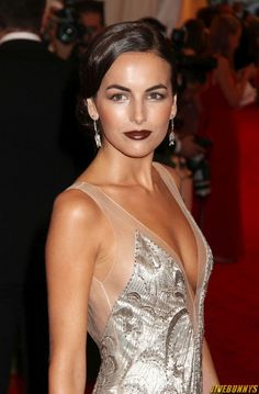 Camilla Belle, beautiful makeup.