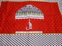 African Fabrics Kanga Khanga Sarong /Fabrics For Dress &Craft Making Fabrics/Tanzania Nida/Cotton Fabrics Wedding Christmass Gift NEW Royal Mail Uk, Craft Making, Wedding Fabric, Etsy Crafts, East Africa, African Fabric, Piece Of Clothing, Tanzania, Printed Cotton