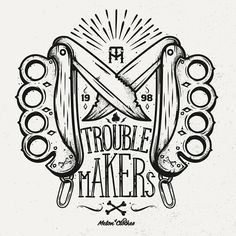 SerialThriller™ — betype: Trouble Makers by Piotr Jakuboski