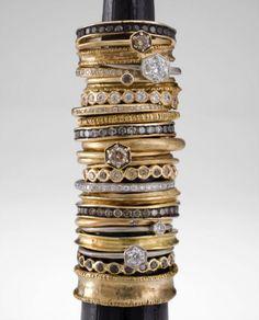 Satomi Stackable Rings