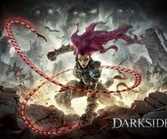 "Darksiders 3 will solid gamers into the position of a mage named Fury who makes use of a whip and magical skills to combat numerous types of evil. Fury is a member of the franchise's Four Horsemen and is described as ""unpredictable and enigmatic. Darksiders Game, Darksiders Horsemen, Dark Siders, Playstation, Microsoft Store, Videos, Saga, Video Game News, Video Games"