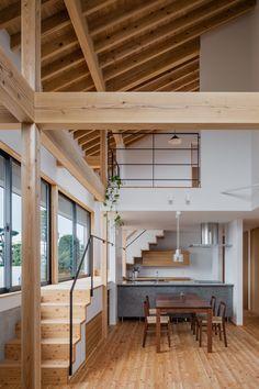 スタジオアウラ一級建築士事務所 の オリジナルな 家 記憶を繋ぐコリドー