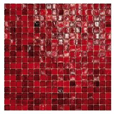 #Sicis #Waterglass Crimson 40 1,5x1,5 cm | #Murano glass | on #bathroom39.com at 388 Euro/box | #mosaic #bathroom #kitchen