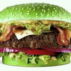 Yuk, Buat Burger Hijau Bakar