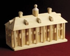 Hmmmm! I might just need this Mount Vernon Wooden Model Kit