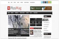 Blogger Templates - Responsive Magazine Blogger Theme #blogger #responsive #bloggertemplates