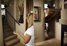 21 Secret Rooms, Doors and Drawers Ideas Because we will have a secret room in our house someday