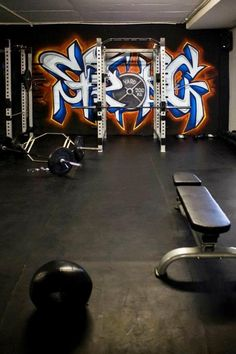 Going off the gym graffiti idea? We could do a whole design or Counsyl in crazy letters- kind of badass :)