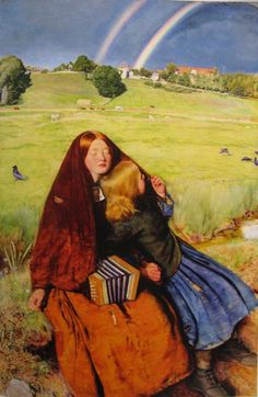 John Everett Millais, Blind girl/ rainbow
