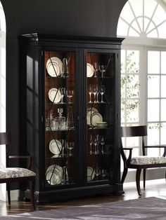 Shown Birkhouse Display Cabinet In Eclipse Viola Like