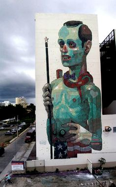 Street Art - Aryz