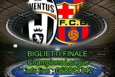 Disponibilità biglietti finale CHAMPIONS LEAGUE JUVENTUS-BARCELLONA 6/06/2015  INFO LINE: 068841342 www.ticketplease.it #champions  #juventus #Barcellona #berlino #finale  #biglietti #juve