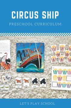 Let's Play School Preschool Curriculum - Preschool At Home, Preschool Curriculum, Kindergarten, Homeschool, Book Activities, Preschool Activities, Pre K Age, Child Love, Read Aloud