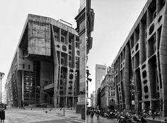 Brutalist architecture 1, Buenos Aires, Argentine. 1959-66 by Clorindo Testa (photo Cemal Emden)
