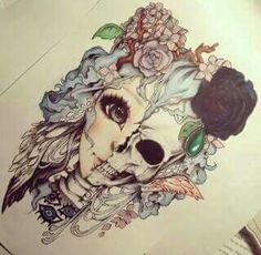 This would make a super adorable tattoo!! Thigh maybe?