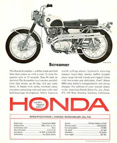 Honda 250 Scrambler