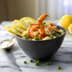 You don't need to break the bank to make a luxurious dinner.Shrimp and Lobster Risottopacks a ton of flavor into a comforting rice dish.  For years my best friend, Heather, and I would han…