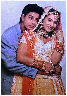 Is this the best work of ? Best Bollywood Movies, Bollywood Couples, Bollywood Girls, Bollywood Celebrities, Bollywood Actress, Bollywood Stars, Bollywood Lehenga, Kuch Kuch Hota Hai, Shahrukh Khan And Kajol