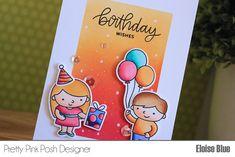 Pretty Pink Posh - 3 Cards 1 Stamp Birthday Edition (Video)