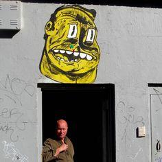 NDA street art character Williamsburg Brooklyn NYC Speaking with NDA