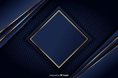 Luxury background with golden geometric shapes Free Vector Poster Background Design, Logo Background, Watercolor Background, Background Patterns, Background Images, Dark Backgrounds, Abstract Backgrounds, Gold Luxury Wallpaper, Gold Photo Frames