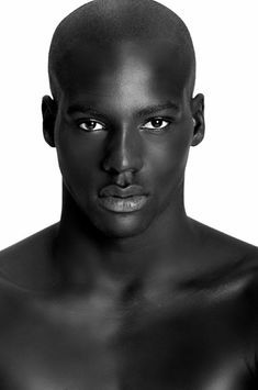 Truth about Melanin, Race and Skin Colour Gorgeous Black Men, Handsome Black Men, Pretty Men, Beautiful Men, Anatomy Head, Dark Man, Black Male Models, Afro Men, Modelos Fashion