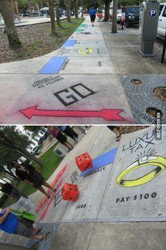 Street board game