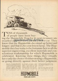 1925 Hupmobile Series R Touring - Hupp Motor Car Corp Antique Open Automobile Ad