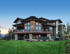 Unique Craftsman House Plan with Sunken Great Room - 95031RW | 2nd Floor Laundry, 2nd Floor Master Suite, Butler Walk-in Pantry, CAD Available, Craftsman, Den-Office-Library-Study, Loft, Luxury, Media-Game-Home Theater, Mountain, Multi Stairs to 2nd Floor, Northwest, PDF, Photo Gallery, Premium Collection, Sloping Lot | Architectural Designs