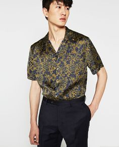 PRINTED FLORAL SHIRT - Available in more colours