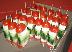 Holiday Appetizers - Useful Articles Finger Food Appetizers, Holiday Appetizers, Appetizer Recipes, Holiday Recipes, Appetizer Ideas, Healthy Snaks, Food Network Recipes, Cooking Recipes, The Kitchen Food Network