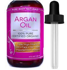 Pure Body Naturals 100% Pure Argan Oil