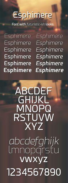 Esphimere Free Font