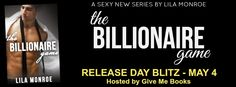 The Hoarding Readers Corner: NEW RELEASE ~~ The Billionaire Game by Lila Monroe...